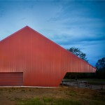 PHAB Architects transforms 1920s packing shed into a contemporary art gallery