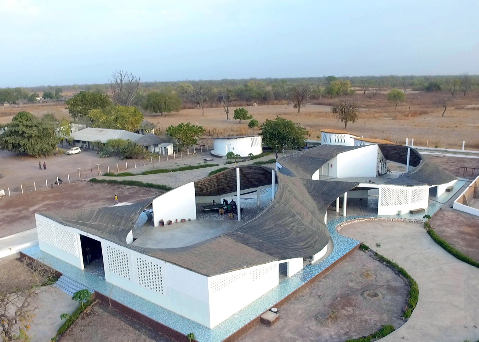 Thread: Artist Residency and Cultural Center, Sinthian, Senegal; by Toshiko Mori Architects