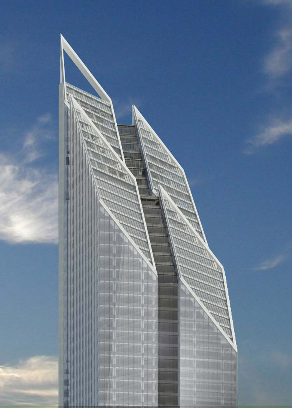Foster and Partners 2 World Trade Center proposal in New York, USA