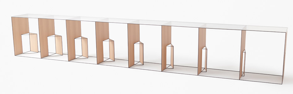 Trace-collection by Nendo