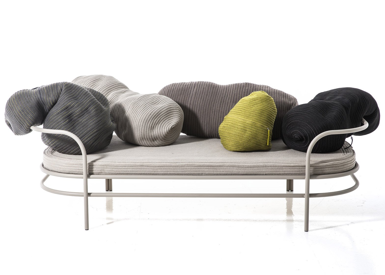 Good Front Has Designed A Sofa With A Series Of Bean Shaped Cushions That Form  Its Backrest 1 Of 13 ...