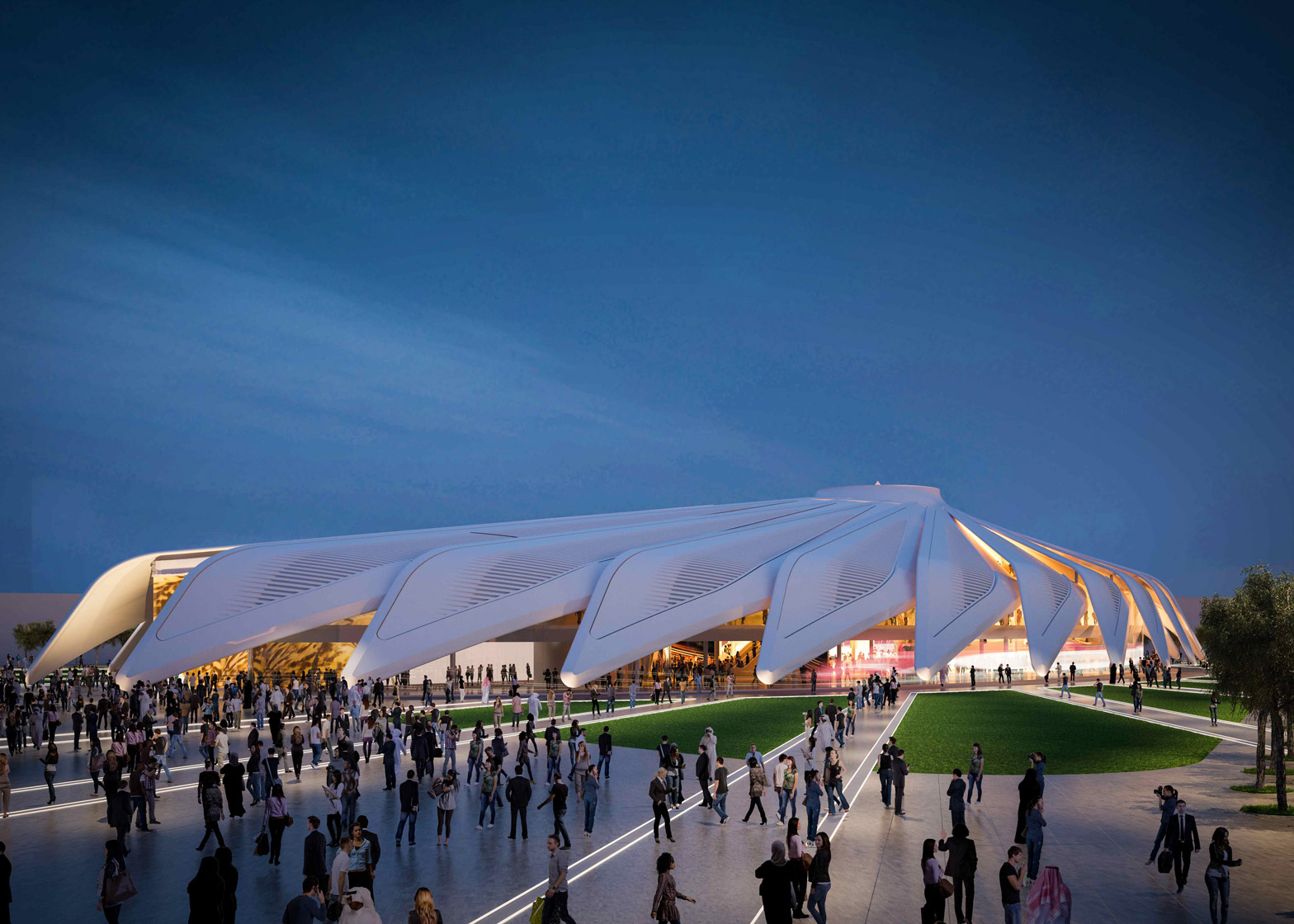 Santiago Calatrava designs UAE Pavilion for Dubai World Expo 2020 84