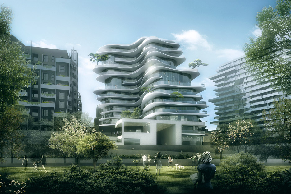 Architecture news: UNIC housing block in Paris, Franc by MAD studio