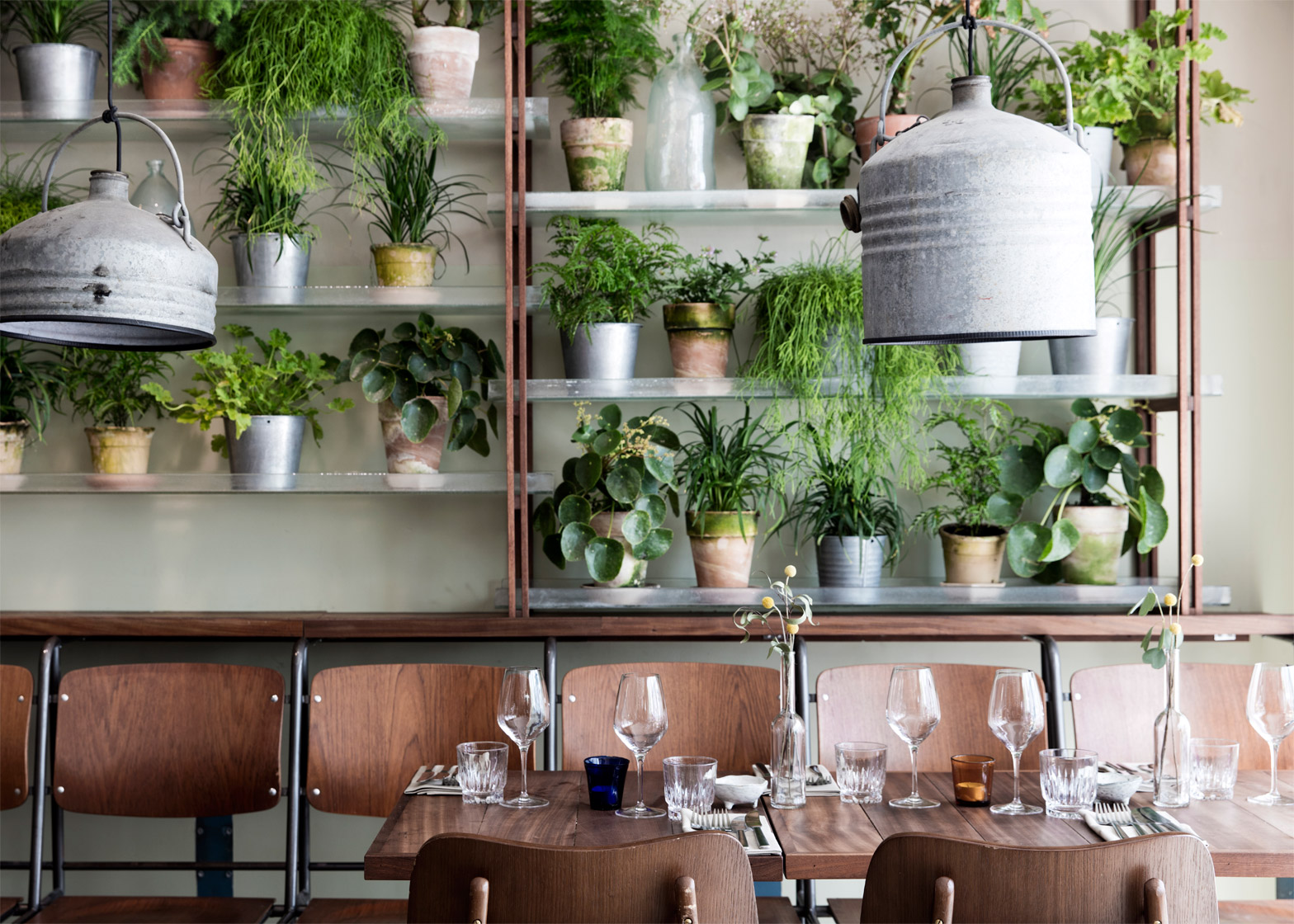 Väkst Nordic restaurant interior by Genbyg in Copenhagen, Denmark