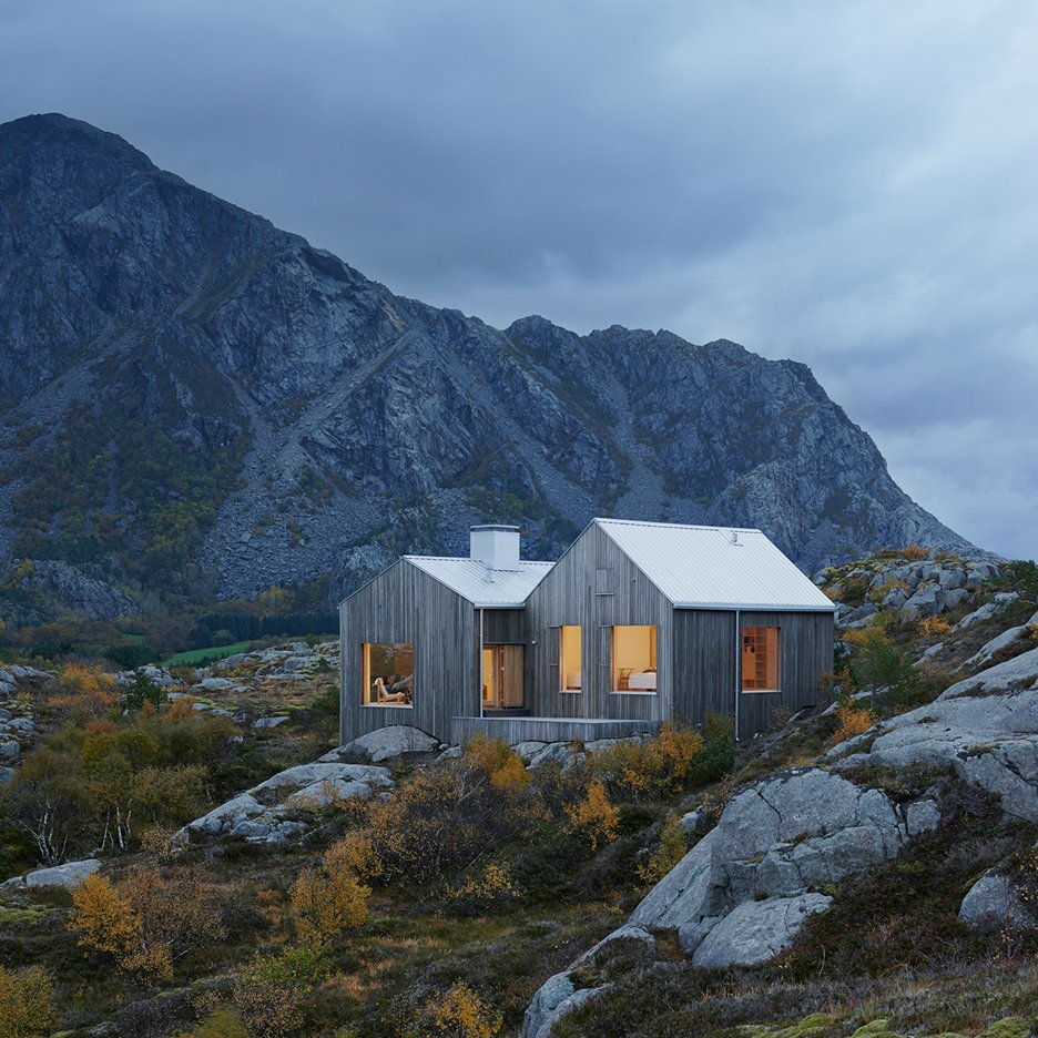 Today we like: Norwegian houses