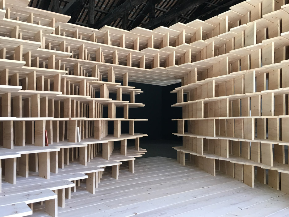 Slovenia Pavilion for the Venice architecture biennale 2016 by Aljoša Dekleva and Tina Gregorič