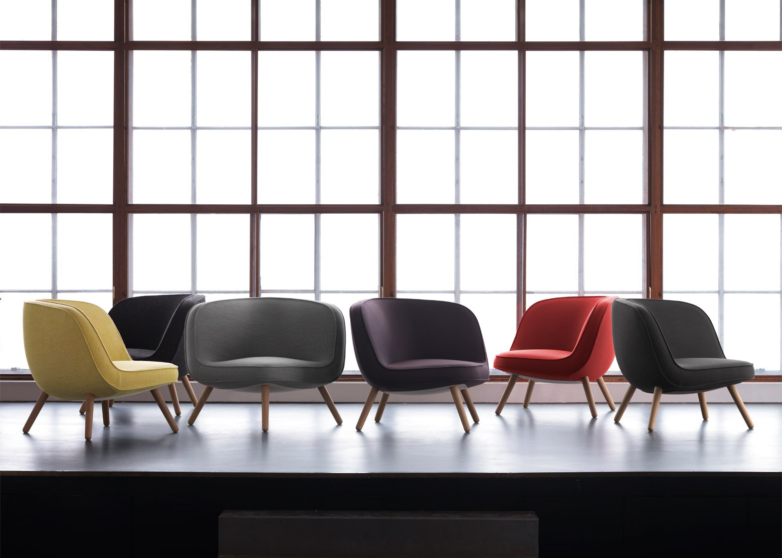 Via 57 lounge chair by Republic Fritz Hansen, KiBiSi and BIG