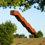 Gravity-defying staircase by Close to Bone climbs up into the sky