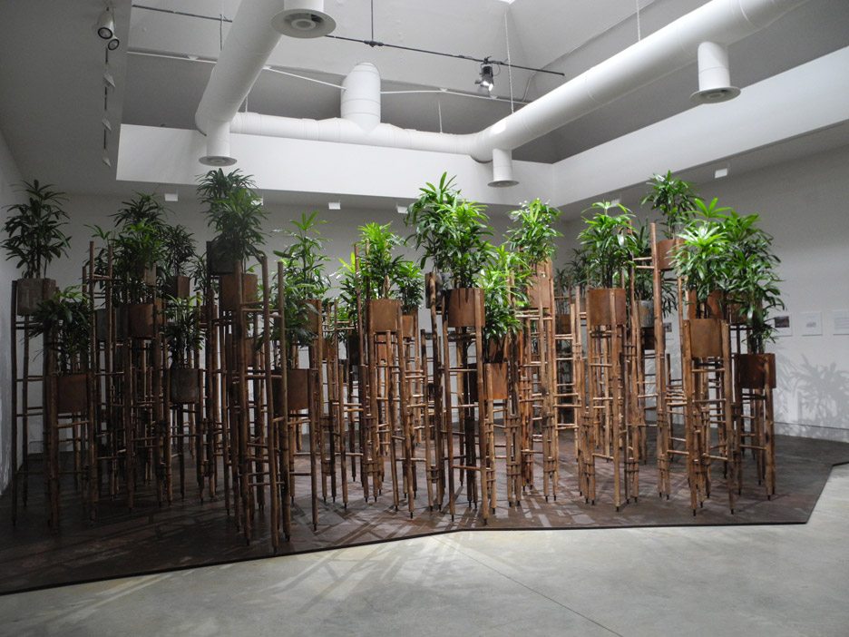 Human Meditation Nature at the Venice Architecture Biennale by Vo Trong Nghia Architects