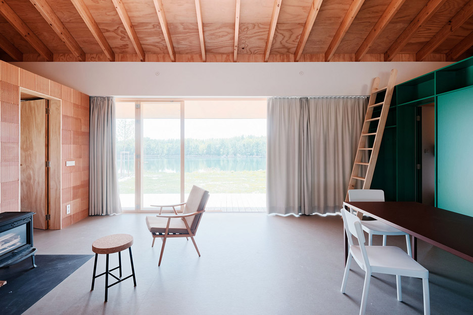 The Lake House project by JRKVC Architects in Slovakia