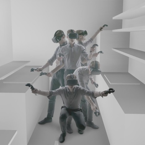 "VR goggles combined with hand-held controllers offers architects ""a whole new way of designing"""