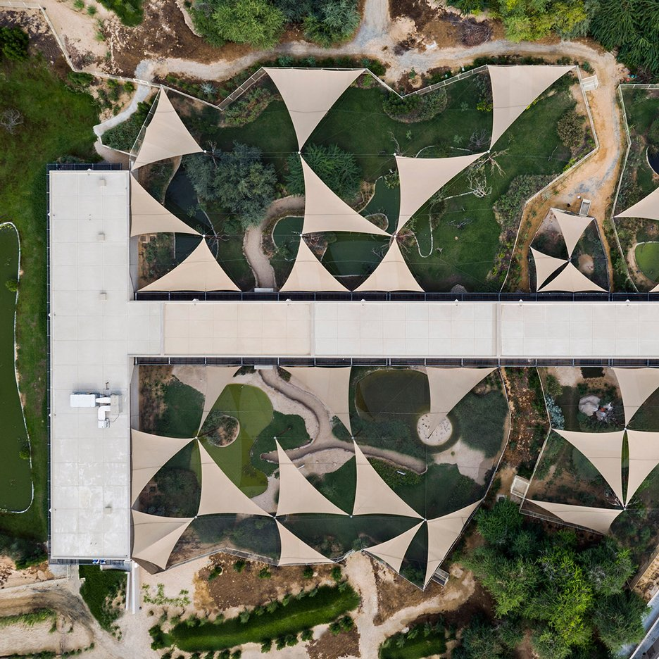 X Architects creates facility for bird watchers at a UAE nature reserve