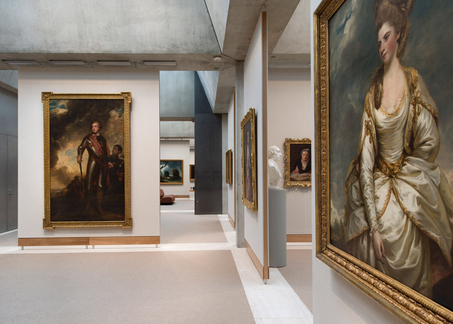 Yale center of British art by Louis Khan reopens following renovation by knight Architecture