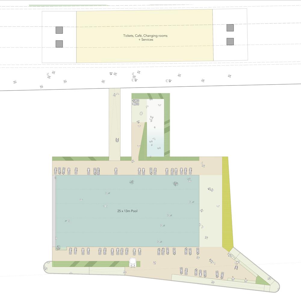 Studio Octopi Designs Floating Swimming Pool For Yarra River