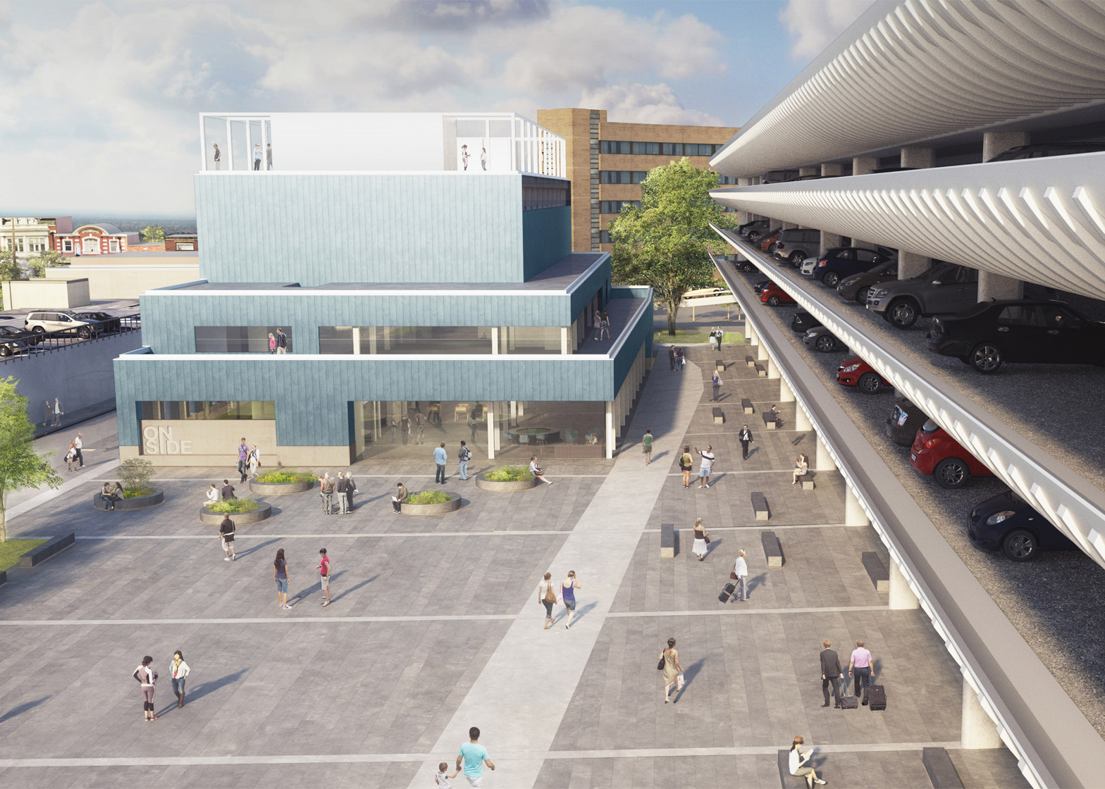 Architecture news: Youth Centre at Preston Bus Station by John Puttick Associates,