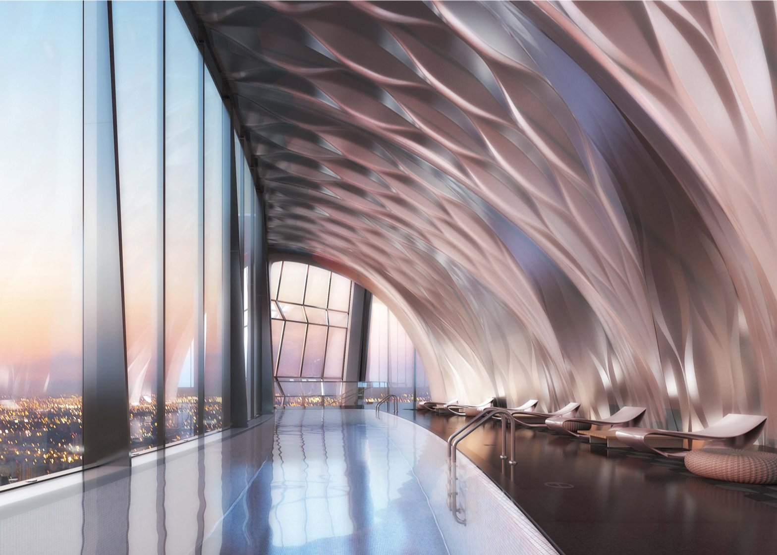 Zaha Hadid's One Thousand Museum residential tower in Miami