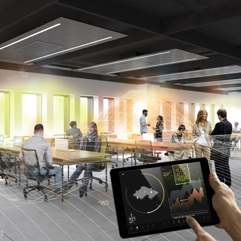 Carlo Ratti's Office 3.0 uses Internet of Things to create personalised environments