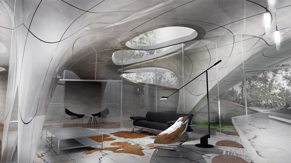 3D Printed house by Urban Architecture Studio
