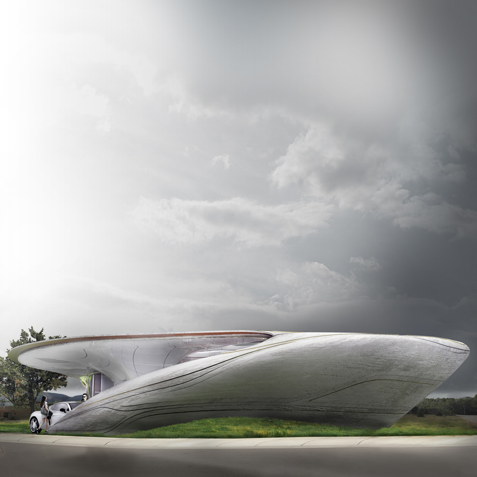 WATG wins competition to design freeform 3D-printed house