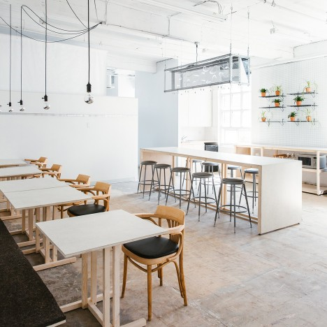 Tom Chung transforms factory floor in Toronto into flexible workspace