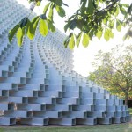 "Bjarke Ingels completes Serpentine Gallery Pavilion that is ""both solid box and blob"""
