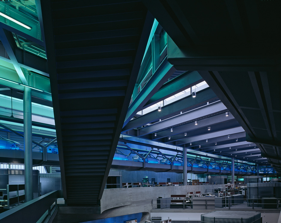 BMW Central Building by Zaha Hadid