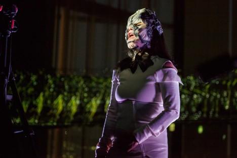 Bjork teams up with designer Neri Oxman to create a 3D printed mask