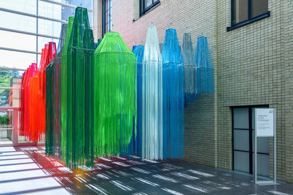Colorscape installation by Kéré Architecture