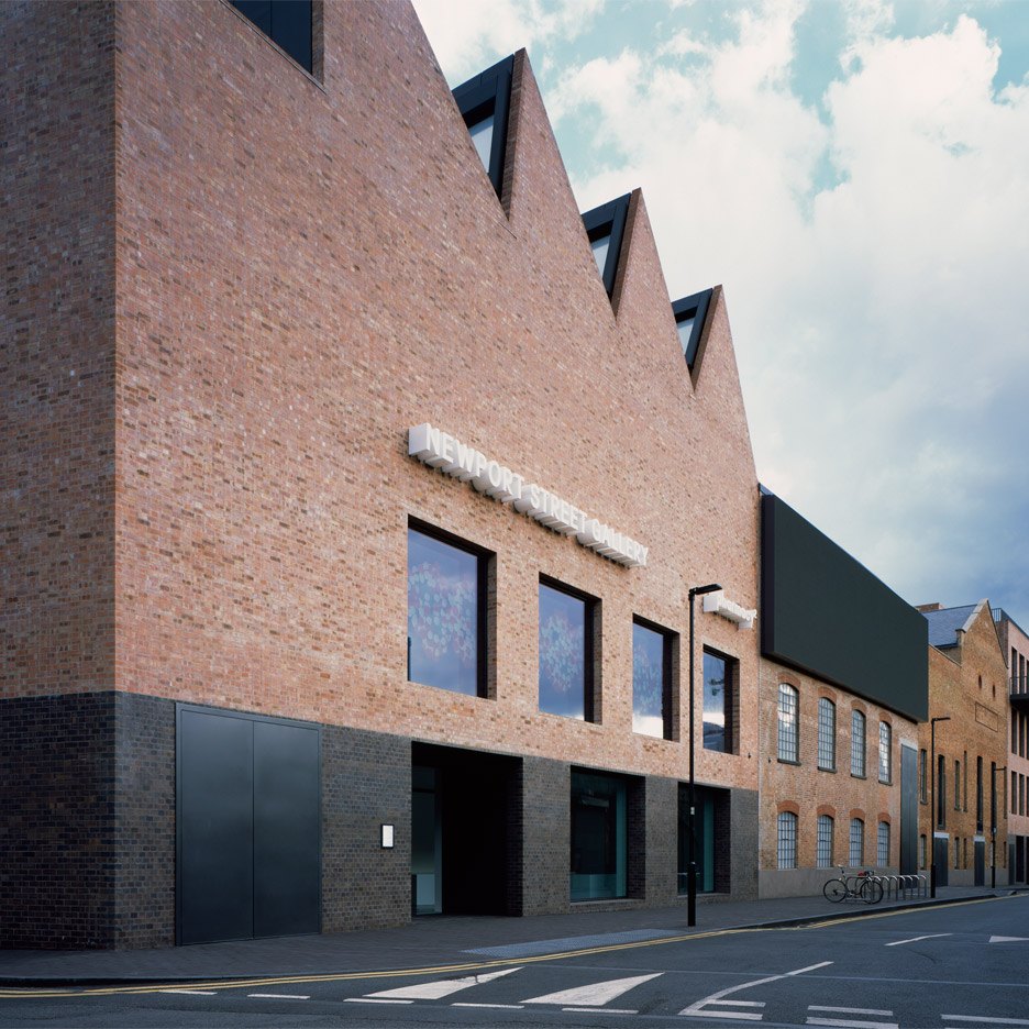 Newport Street Gallery by Caruso St John Architects. Photograph by Hélène Binet