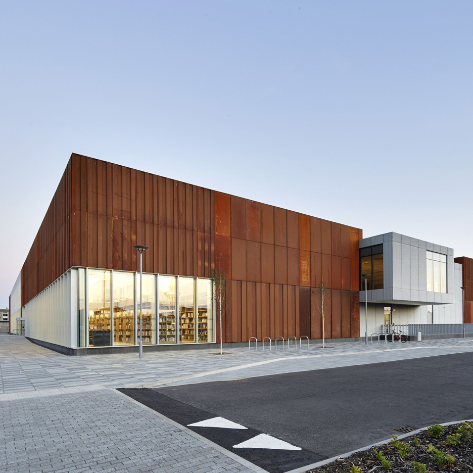 Hebburn Central by FaulknerBrowns Architects. Photograph by Hufton + Crow