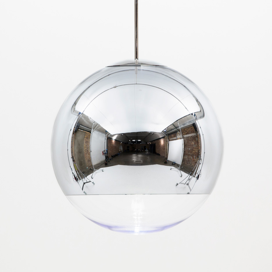 "Tom Dixon says his hugely popular Mirror Ball light is ""a failure in design terms"""