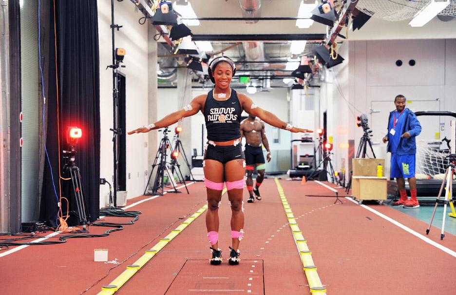 63c97f42e7ca Nike unveils shoes for 100-metre sprinter at Rio 2016 Olympics