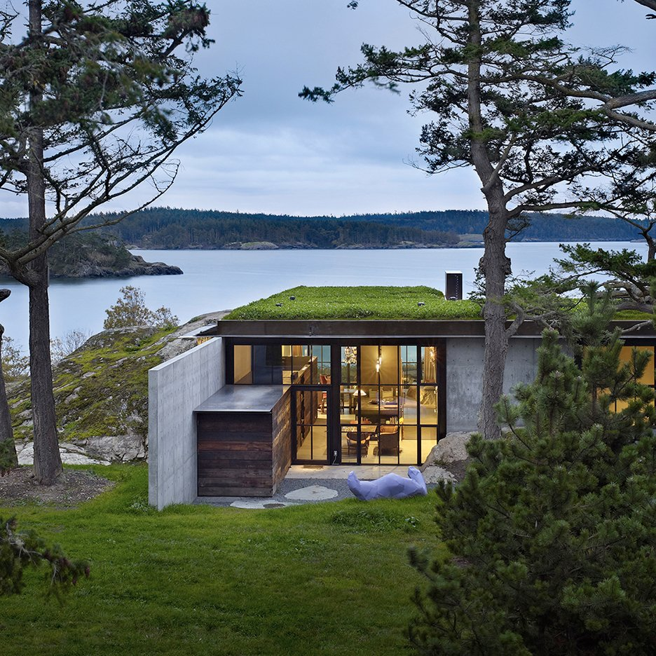 Five of the best houses in washington state on dezeen for Best looking houses