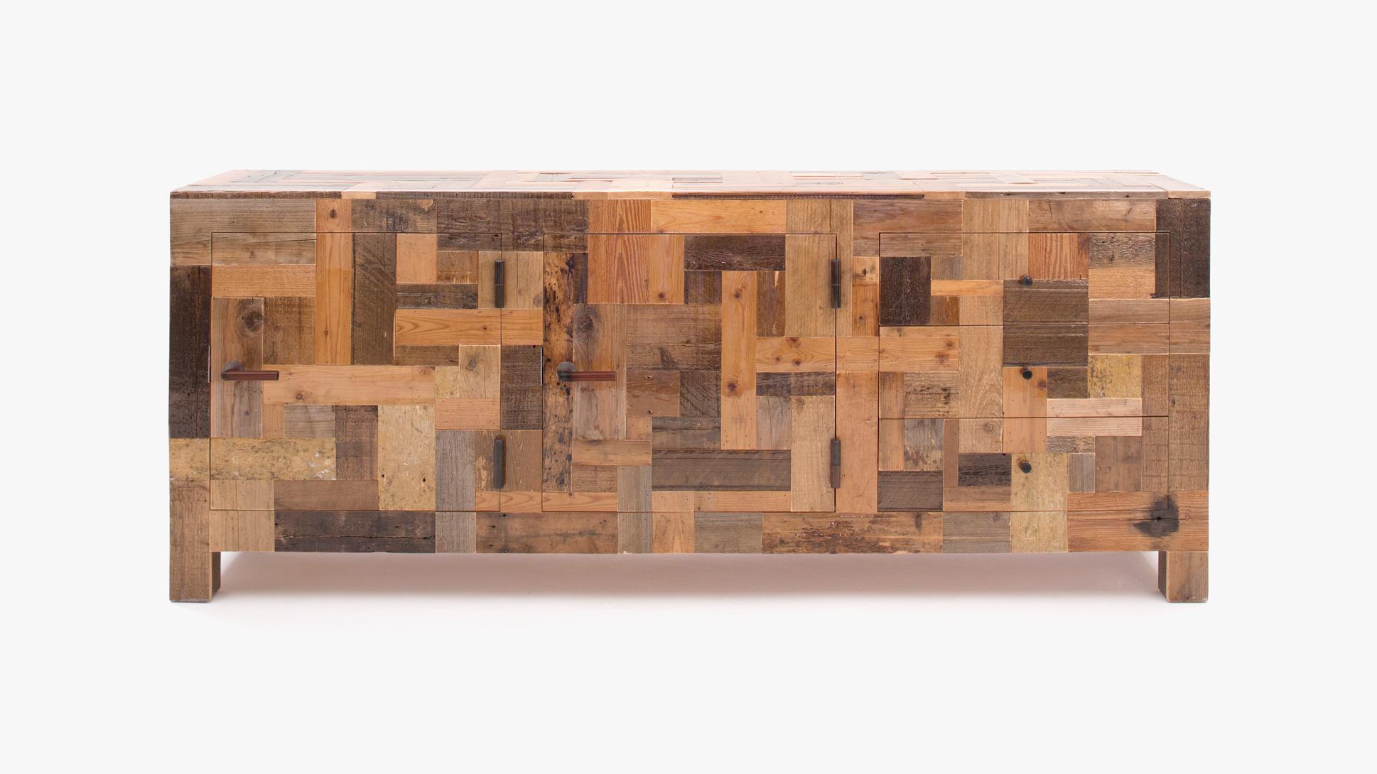 Great Scrapwood Furniture By Piet Hein Eek