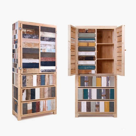 "Making designer furniture with scrap wood was ""totally new"", says Piet Hein Eek"