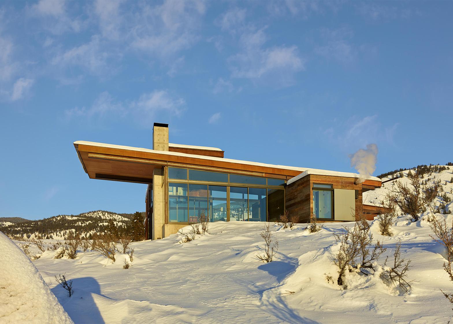 Studhorse house by Tom Kundig