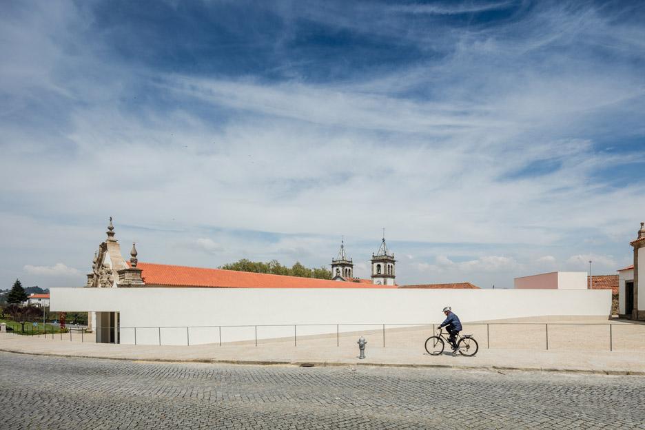 Abade Pedrosa Museum in Santo Tirso by Álvaro Siza Vieira and Eduardo Souto Moura