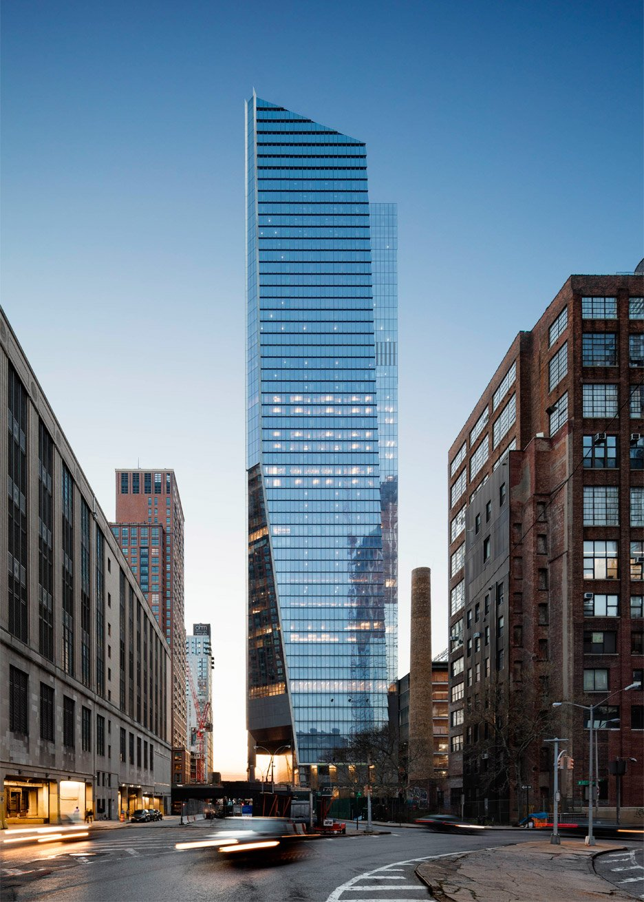 10 Hudson Yards skyscraper by Kohn Pedersen Fox, KPF, for Coach