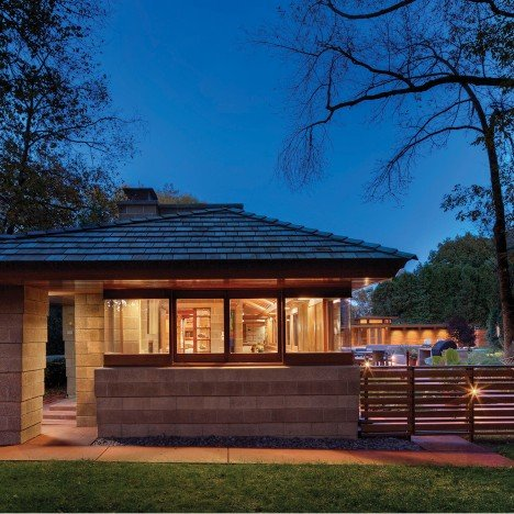 TKWA restores 1940s Frank Lloyd Wright home in Wisconsin