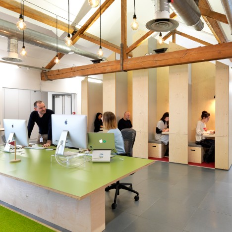 Five Innovative Office Designs From Clerkenwell Design