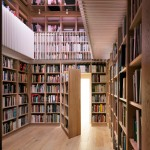 Studio Seilern hides secret library at the heart of converted English barn
