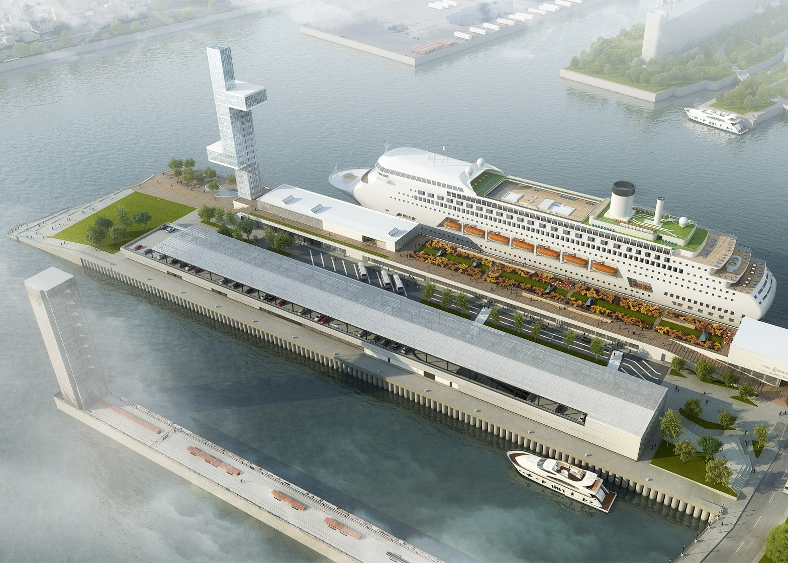 Provencher Roy to restore Montreal's Alexandra Pier and