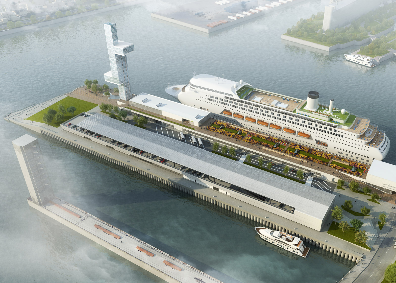 Montreal Port Terminal by Provencher Roy