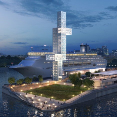 Provencher Roy to restore Montreal's Alexandra Pier and cruise terminal