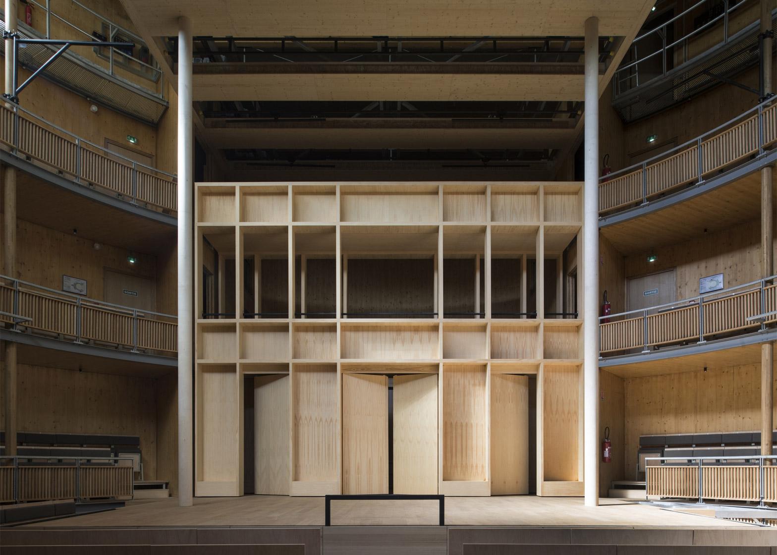 Elizabethan Theatre by Studio Andrew Todd