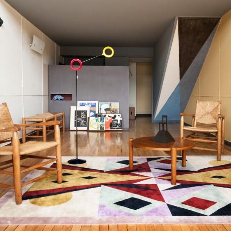 Alessandro Mendini creates new interior for Apartment N°50 in Le Corbusier's Cité Radieuse