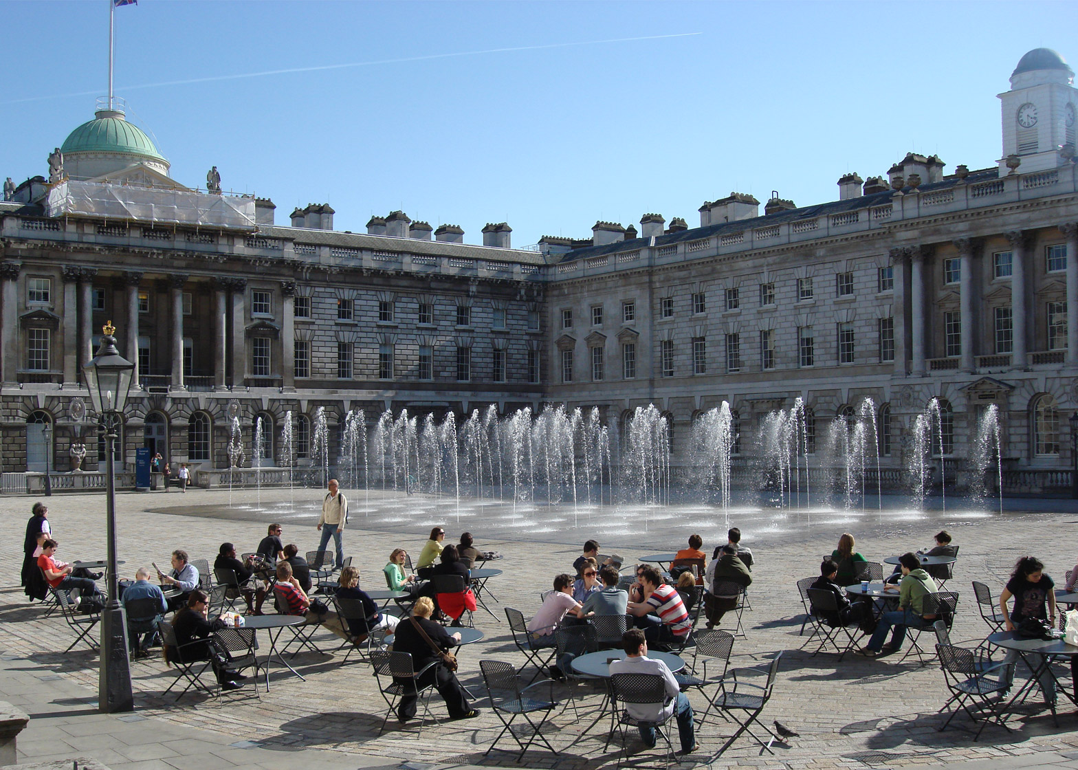Somerset House in London. Photograph by Jeff Knowles