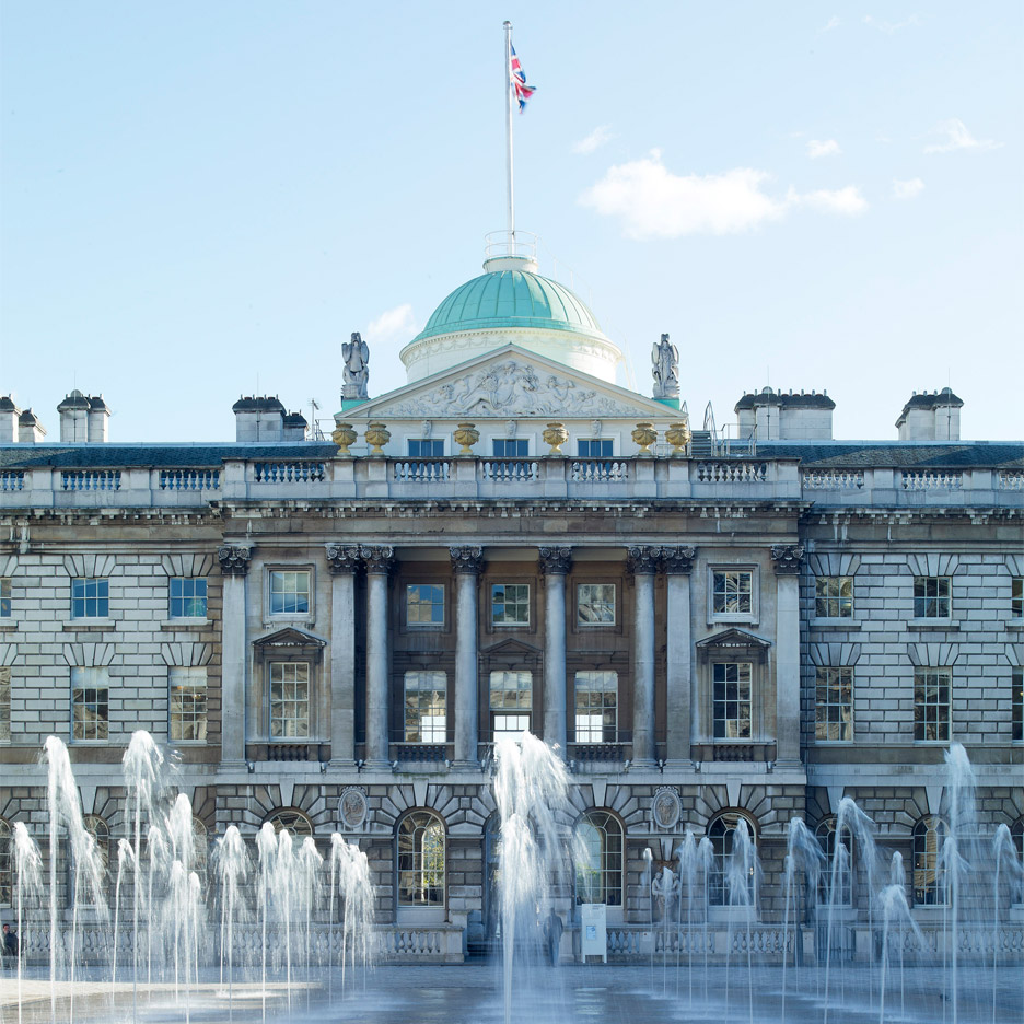 Somerset House in London. Photography by Marcus Ginns