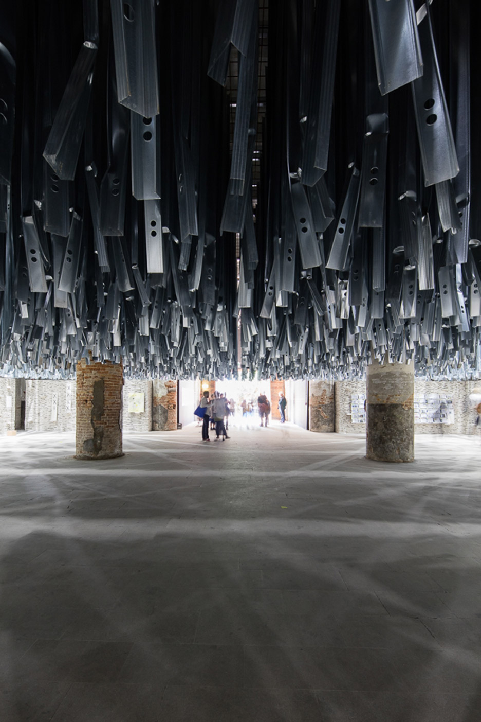 Arsenale entrance exhibition at Venice Biennale 2016