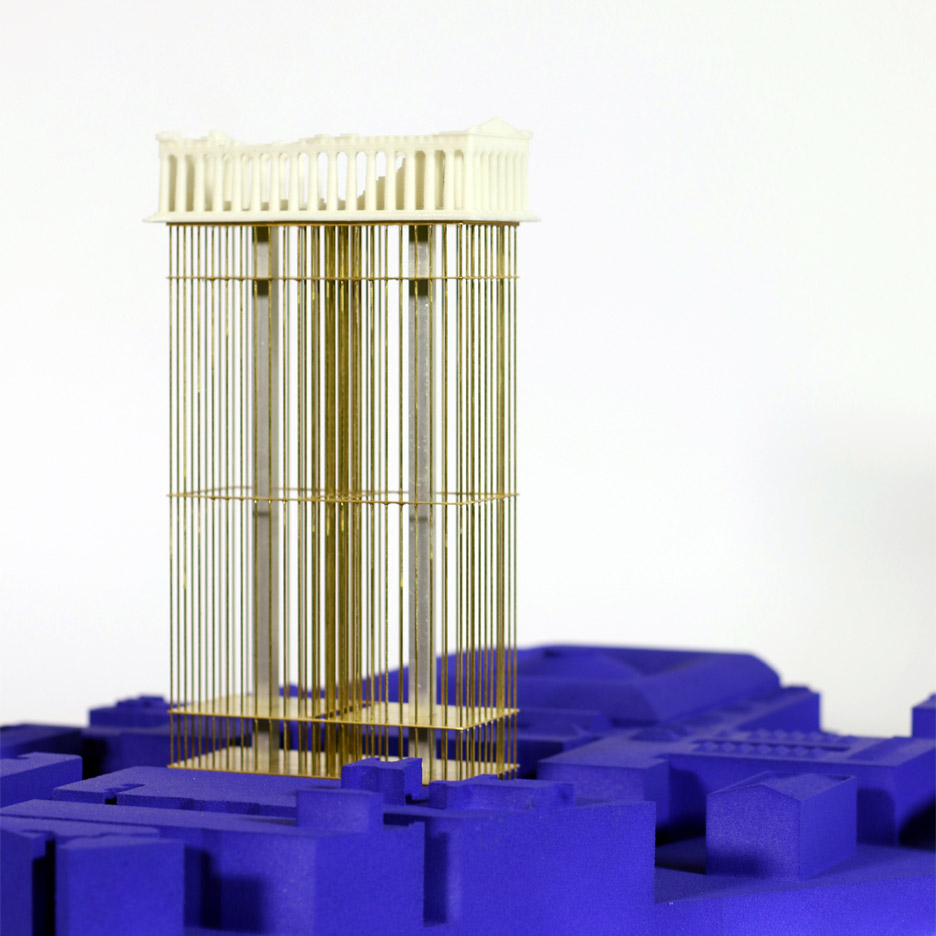 Athens is a ruin graduate conceptual architecture at the royal college of art by Kit Silby Harris